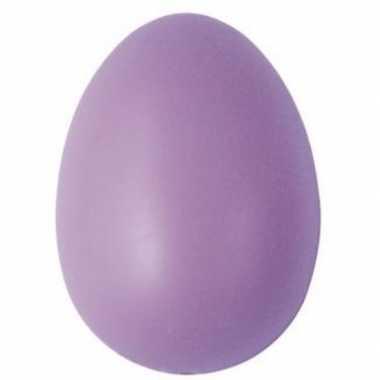 Decoratie eieren lila 6 cm 25 stuks