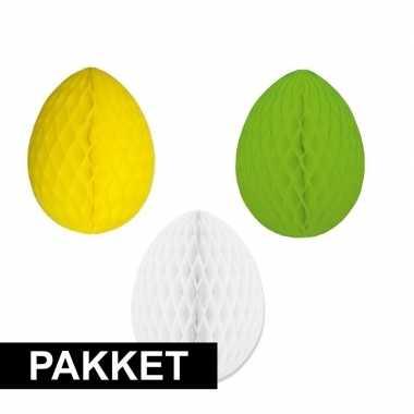 Gekleurde decoratie paaseieren