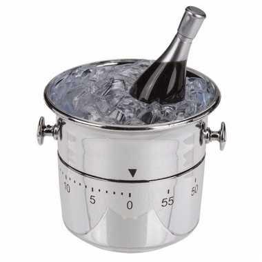 Keuken klokje champagnekoeler