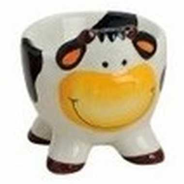 Koeien/kalveren eierdopje 5 x 6 cm