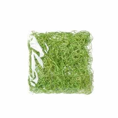 Paasdecoratie groen deco gras 45 gr