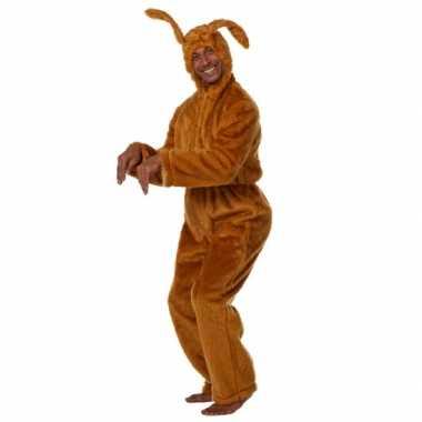 Paashaas jumpsuit voor volwassenen