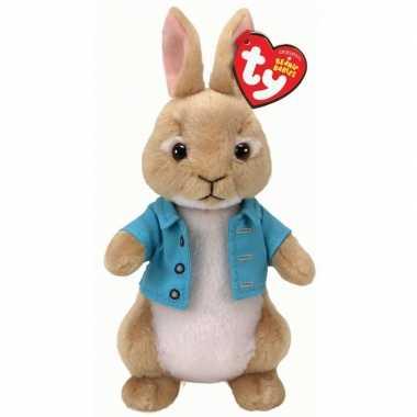 Ty beanie boo peter rabbit wipstaart paashaas 15 cm knuffeldieren